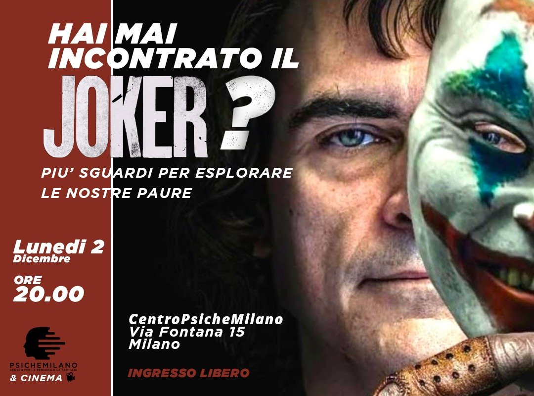 Psichemilano Cinema The Joker