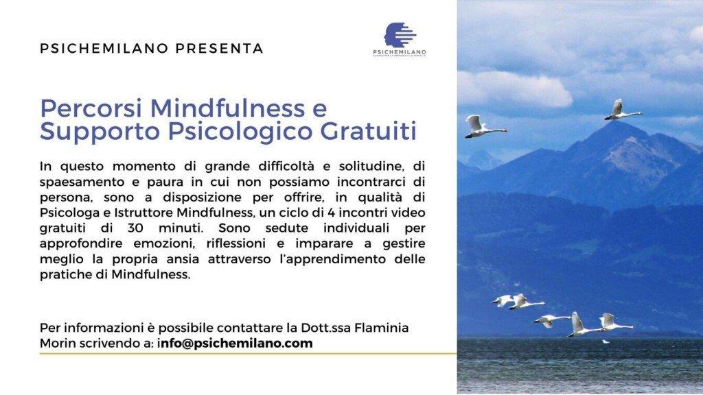 PsicheMilano percorsi mindfulness